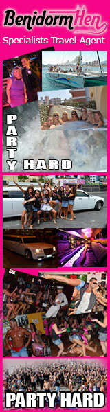 Hen Party Activities in Benidorm